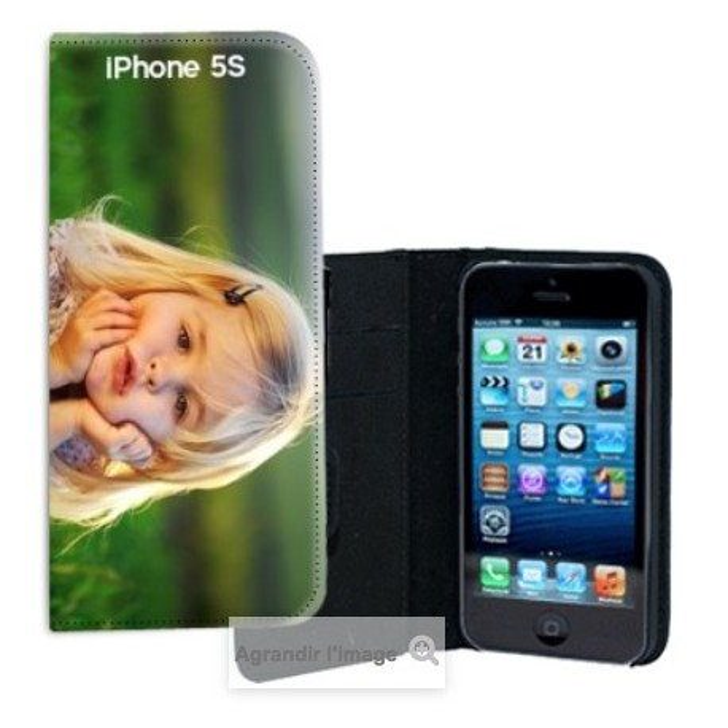 Etui Cuir pour Iphone 5S