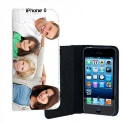 Etui Cuir personnalise pour Iphone 6