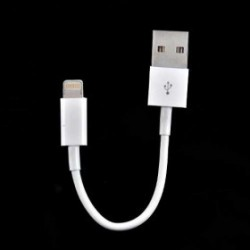 MINI CÂBLE USB LIGHTNING POUR IPHONE 5, 5C, 5S, 6, 6+, IPAD 4 IPOD TOUCH 5 ET NANO 7