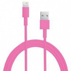 CÂBLE USB LIGHTNING ROSE POUR IPHONE, IPAD, IPOD TOUCHET NANO