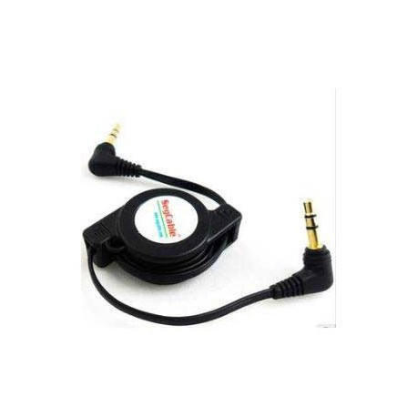CABLE RETRACTABLE JACK MALE 3.5 MN