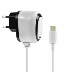 CHARGEUR 220 VOLTS LIGHTNING POUR IPHONE, IPAD, IPOD TOUCH ET NANO 7