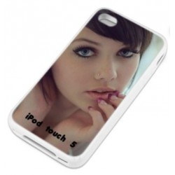 Coque personnalisee TRANSPARENTE Ipod Touch 5