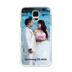 Coques souples PERSONNALISEES Gel silicone pour Samsung Galaxy S5 mini