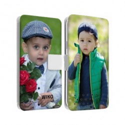 Etui cuir RECTO VERSO pour WIKO ROBBY