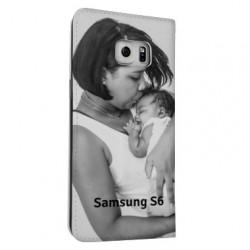 Etui cuir à personnaliser SAMSUNG GALAXY S6 ( SM-G920F )
