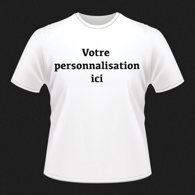 T-shirts personnalisés FACE Femme taille M