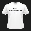 T-shirts personnalisés FACE Homme taille L