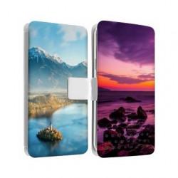 Etui cuir RECTO VERSO pour Huawei P10