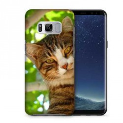 Coques souples PERSONNALISEES Gel silicone pour Samsung Galaxy S8