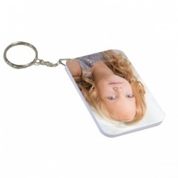 Porte clés personnalisable en cuir