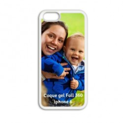 Coque à personnaliser GEL FULL 360 pour Iphone 6 S