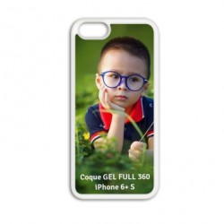 Coque à personnaliser GEL FULL 360 pour Iphone 6 plus S
