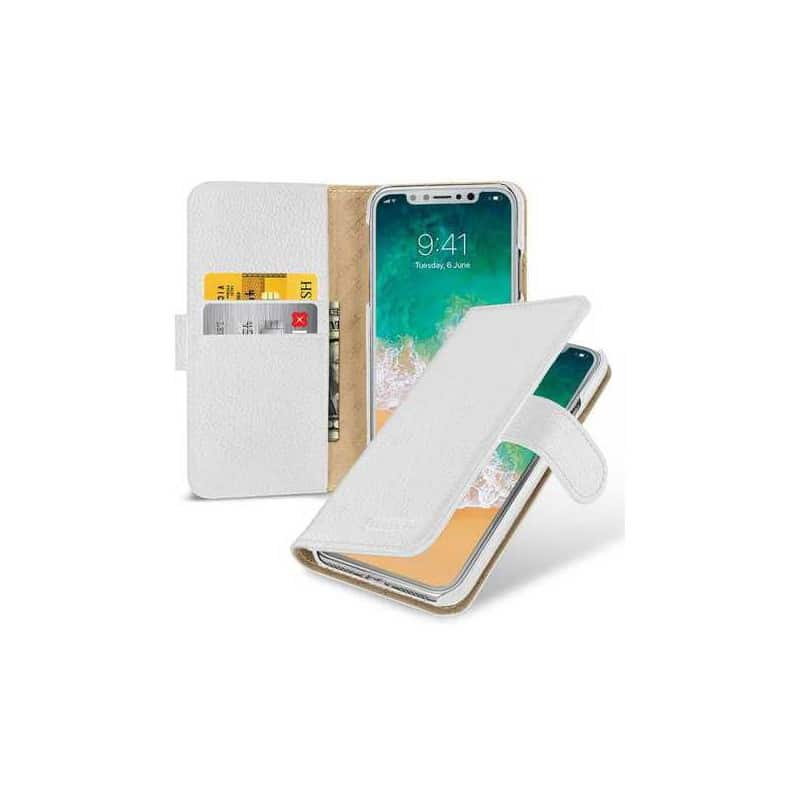 Etui cuir personnaliser iphone x ten 17 9 euros for Interieur iphone x