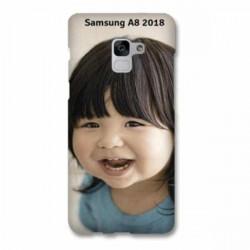 Coque à personnaliser souple en silicone pour Samsung Galaxy A8 2018