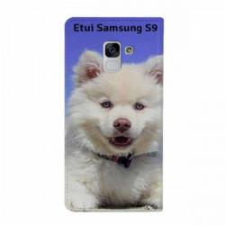 Etui rabattable à personnaliser pour Samsung Galaxy S9