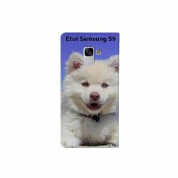 Etui rabattable à personnaliser pour Samsung Galaxy S9 PLUS