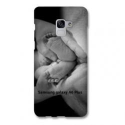 Coque à personnaliser souple en silicone pour Samsung Galaxy A6 Plus