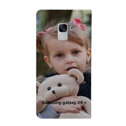 Etui rabattable à personnaliser pour Samsung Galaxy A6 PLUS