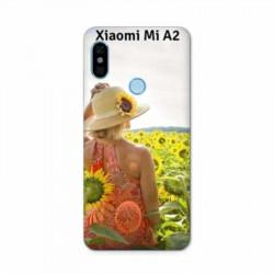 Coque à personnaliser souple en silicone pour XIAOMI MI A2
