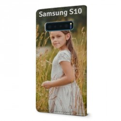 Etui rabattable à personnaliser pour Samsung Galaxy S10