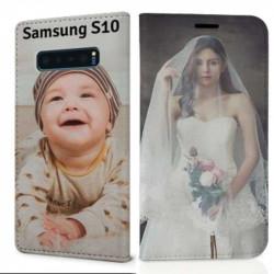 Etui rabattable personnalisé RECTO VERSO Samsung Galaxy S10