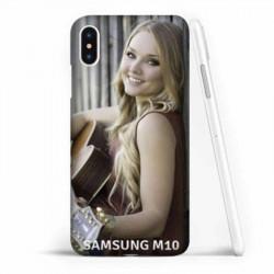 Coque souple en gel à personnaliser Samsung Galaxy M10