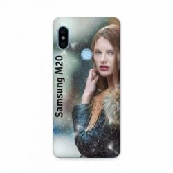 Coque souple en gel à personnaliser Samsung Galaxy M20