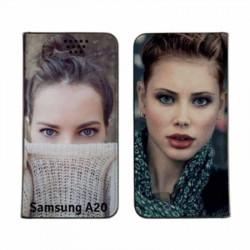 Etui RECTO VERSO pour Samsung Galaxy A20