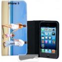Etui Cuir pour Iphone 5