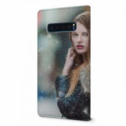 Etui rabattable à personnaliser pour Samsung Galaxy S10 Plus