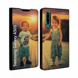 Etui RECTO VERSO pour Samsung Galaxy A50s