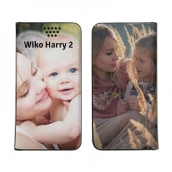 Etui à personnaliser RECTO VERSO pour Wiko harry 2