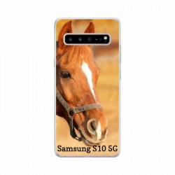 Coque souple en gel à personnaliser Samsung Galaxy S10 5g