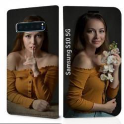 Etui RECTO VERSO Samsung Galaxy S10 5g