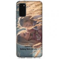 Coque souple en gel à personnaliser Samsung Galaxy Note 10 Lite