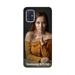 Coque souple en gel à personnaliser Samsung Galaxy A71 5g