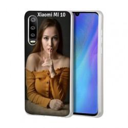 Coque souple en gel à personnaliser Xiaomi Mi 10