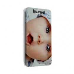 Etui Cuir à personnaliser Huawei P8 LITE