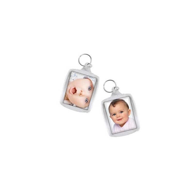 Porte cl s personnalisable cristal recto verso 6 9 euros - Porte clef personnalise photo recto verso ...