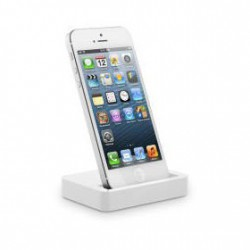 DOCK LIGHTNING POUR APPLE IPHONE 5, 5S, 5C, 6, 6+,6S, 6S +, 7, 7 +, SE ET IPOD TOUCH 5 et 6