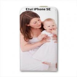 Etui Cuir à personnaliser pour Iphone SE