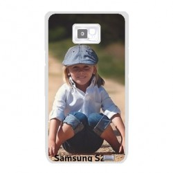 Coques souples PERSONNALISEES Gel silicone pour Samsung Galaxy S2