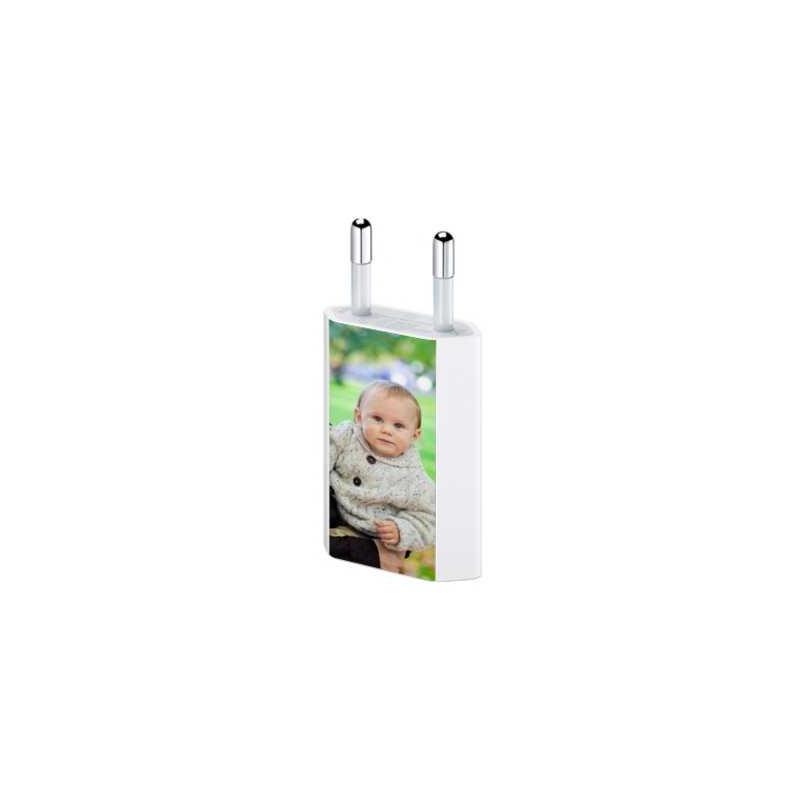 Chargeur mural USB personnalisé