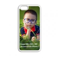 Coque à personnaliser GEL FULL 360 pour Iphone 7 +