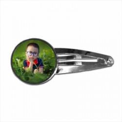 Barrette clip pour cheveux personnalisée