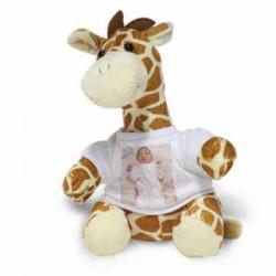 Peluche giraffe personnalisée