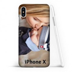 Coque à personnaliser souple en Gel silicone Iphone X (ten)